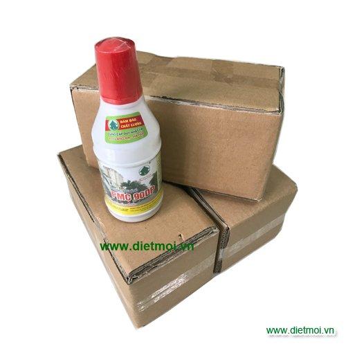 Bộ thuốc diệt mối tận gốc gồm 3 hộp nhử và 1 chai thuốc PMC 90
