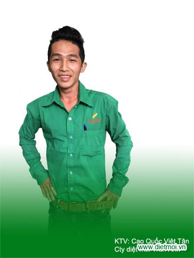 Cao Quốc Việt Tân - Kỹ thuật viên