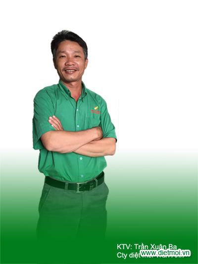 Trần Xuân Ba - Kỹ thuật viên